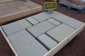 Blue Stone Patios Tumbled Bluestone Walkway And Patio Stone Wicki Stone