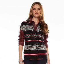 womens sweater vest chaps vest sleeveless medium knit sweaters for ebay