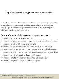 auto mechanic sample resume unforgettable automotive technician