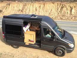 the adventure mobile our diy sprinter camper van bicycle hauler
