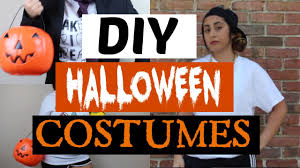 diy scary inexpensive halloween costumes youtube