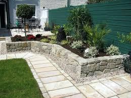 Front Yard Patio Garden Design Garden Design With Front Yard Patio Ideas On A