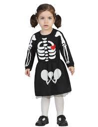 comment faire un maquillage de squelette déguisement bébé squelette fille halloween deguise toi achat de