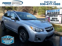 subaru crosstrek 2016 used subaru xv crosstrek for sale reno nv cargurus