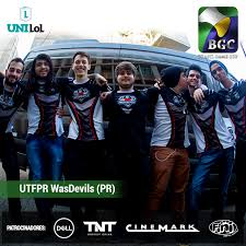 ingresso s uma das equipes do desafio unilol 礬 a wasdevils da utfpr garanta