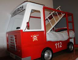Bedroom Fire Truck Bunk Bed For Inspiring Unique Bed Design Ideas - Step 2 bunk bed