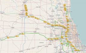 Road Map Of Illinois by Chicago Traffic And Commuting Update At 6 A M Chicago Sun Times