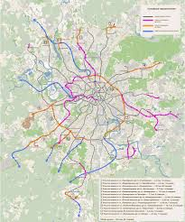 Moscow Metro Map by Proposed Extensions For The Moscow Metro System X Post From R