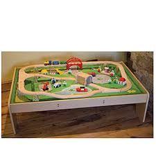 carousel train table set top 10 cheapest wooden train set prices best uk deals on toys