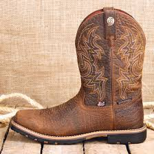 s boots justin justin george strait all brown square toe boot