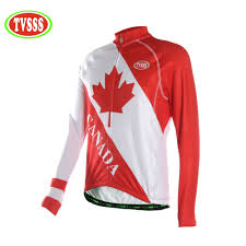 Canadian Flag Running Shorts Tvsss Men U0027s Summer Long Sleeve Cycling Jersey Canada Flag Maple