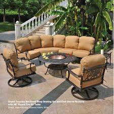 Wrought Iron Swivel Patio Chairs Wrought Iron Sectional Patio Furniture Gccourt House