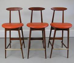 furniture amazing mid century bar stools for modern counter
