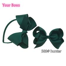 hair bows uk your bows 2pcs hairbands uk school colors hair bows
