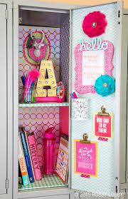high school stuff 25 diy locker decor ideas for more cooler look lockers favorite