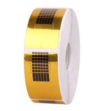 wholesale gold nail guide sticker tape nail art sculpting