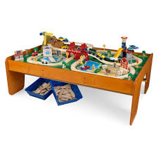 drafting table michaels kidkraft ride around town train set with table