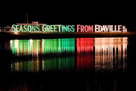 christmas lights train ride the cullinan family edaville railroad