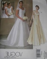 vogue wedding dress patterns wedding dress pattern to sew gallery craft decoration ideas