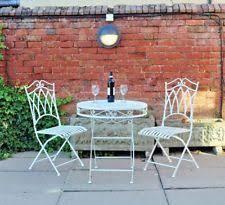 wrought iron 3 pieces garden patio furniture sets ebay
