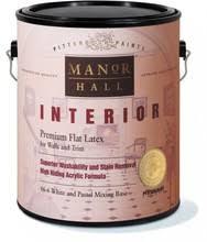 Interior Flat Paint Pittsburgh Paint Manor Hall Interior Flat Acrylic Latex Gallon
