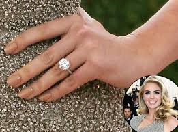 engaged ring here s what makes kate upton s engagement ring from justin
