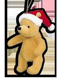 Winnie The Pooh Christmas Tree Decorations Glass Globe Piglet And Winnie The Pooh Ornament Ornaments Winnie
