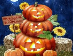fall pumpkins wallpaper other pick autumn paintings halloween colors creative pre fun