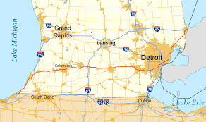 Detailed Map Of Michigan Interstate 94 In Michigan Wikipedia