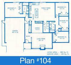 floor plans single family plans