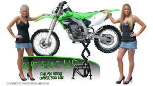 motocross bike lift mx lift steel motocross lift youtube