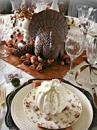Thanksgiving Table Setting Ideas by 2015 Thanksgiving Tablecloth And Setting Ideas Premier Table