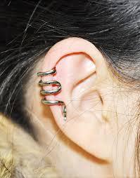 cartilage earrings men online shop new vintage snake cartilage ear cuff clip