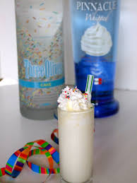 birthday cake martini the good life gourmet birthday cake shots