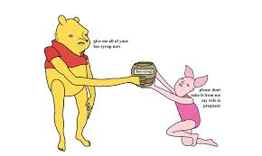 give bee syrup winnie pooh chris simpsons
