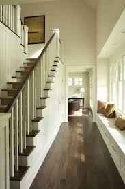 Interior Wood Railing Indoor Stair Railing Classic Interior Design With Traditional