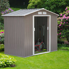 outdoor storage shed ebay