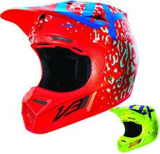 fox motocross clothing uk fox racing v3 cauz w mips mens dirt bike off road motocross
