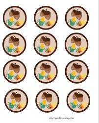 thanksgiving cut and paste free printable thanksgiving cupcake toppers
