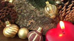 ornaments and decoration items moving while hanging