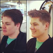 over 55 mens hair cut men s haircut high and tight before and after my work