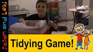 how to tidy your room in 6 steps tidying games for kids youtube