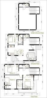 architect home plans sketchup modern home plan 6x12m with 3 bedroom sam architect