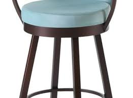 Bar Stool With Back And Arms Astounding Leather Swivel Bar Stools With Back Dining Room The