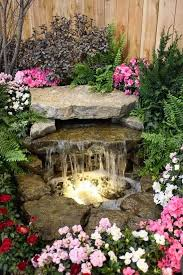 Backyard Waterfall Ideas by Best 25 Outdoor Waterfalls Ideas On Pinterest Backyard Water