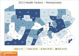 Where Is Pennsylvania On The Map by Pennsylvania Rankings Data County Health Rankings U0026 Roadmaps