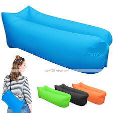 Blow Up Armchair 21grams Sleeping Bag Inflatable Sofa Hangout Air Sleep Camping Bed