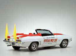 69 camaro pace car 1969 chevrolet camaro rs ss 350 convertible indy 500 pace car