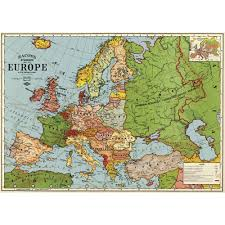 Map Wrapping Paper Buy The Vintage Map Of The World Utility Design Uk