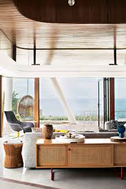Modern Coastal Eclectic Home Beach House Interior Design - Modern beach house interior design